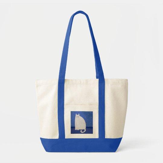 Ralphy Cat Tote Bag designer-artist Wendy Ferguson