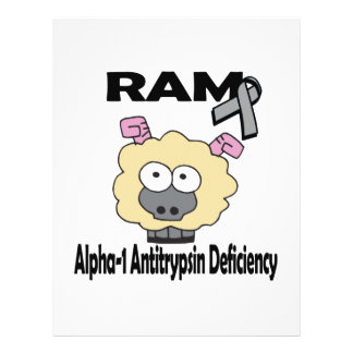 RAM Alpha-1 Antitrypsin Deficiency 21.5 Cm X 28 Cm Flyer