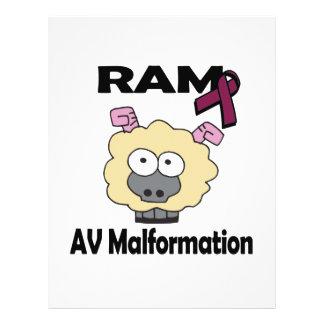 RAM AV Malformation 21.5 Cm X 28 Cm Flyer
