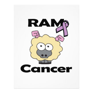RAM Cancer 21.5 Cm X 28 Cm Flyer