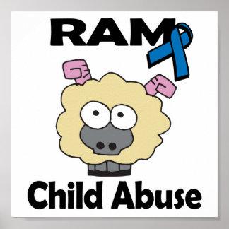 RAM Child Abuse Poster