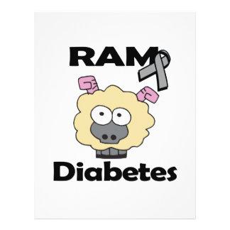 RAM Diabetes 21.5 Cm X 28 Cm Flyer
