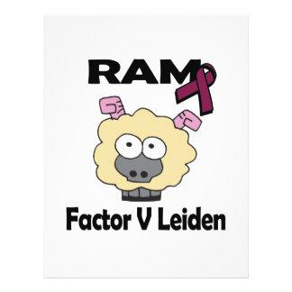 RAM Factor V Leiden 21.5 Cm X 28 Cm Flyer