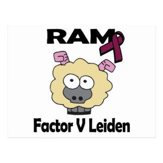 RAM Factor V Leiden Postcard