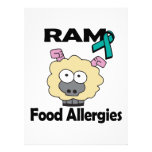 RAM Food Allergies Personalized Announcement