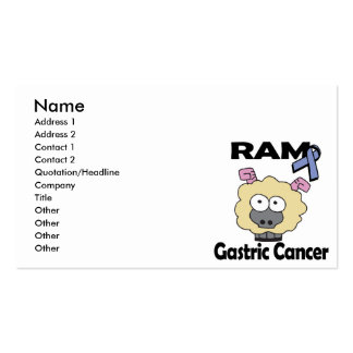 RAM Gastric Cancer Business Card Template