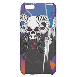 Ram Horned Skull iPhone 5C Covers