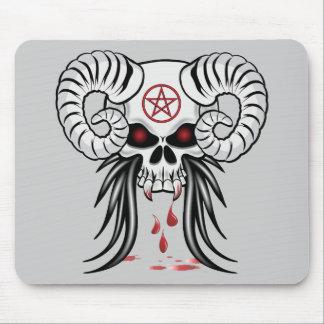 Ram Horned Skull Mouse Pad