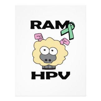RAM HPV 21.5 CM X 28 CM FLYER