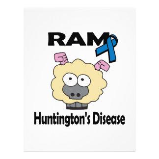 RAM Huntingtons Disease 21.5 Cm X 28 Cm Flyer