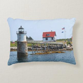 Ram Island Lighthouse, Maine Accent Pillow