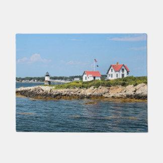 Ram Island Lighthouse, Maine Door Mat