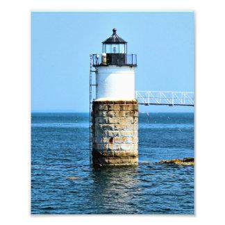 Ram Island Lighthouse, Maine Photo Print