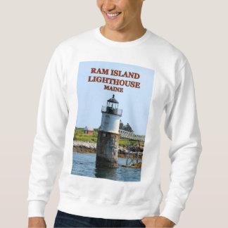 Ram Island Lighthouse, Maine Sweatshirt