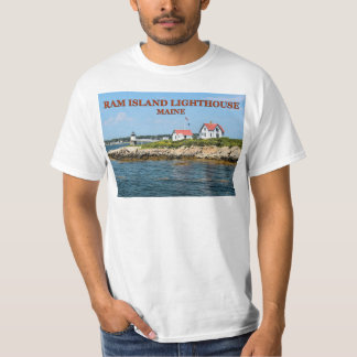 Ram Island Lighthouse, Maine T-Shirt