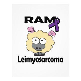RAM Leimyosarcoma 21.5 Cm X 28 Cm Flyer