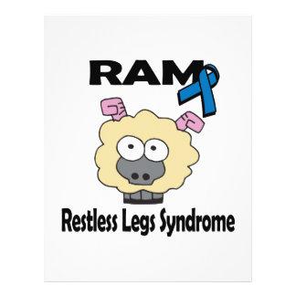 RAM Restless Legs Syndrome 21.5 Cm X 28 Cm Flyer