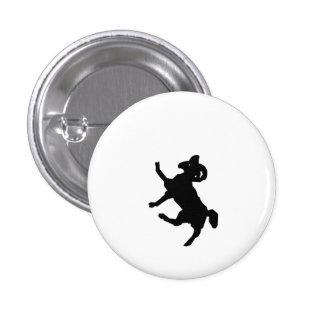 Ram Silhouette Pinback Buttons