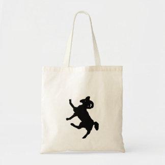 Ram Silhouette Tote Bags