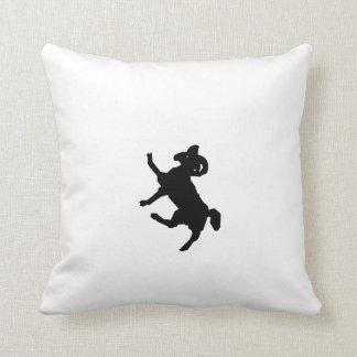 Ram Silhouette Throw Pillow