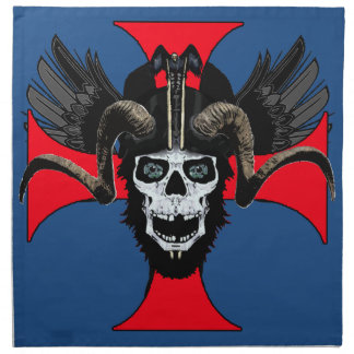 Ram skull 3 tw napkin