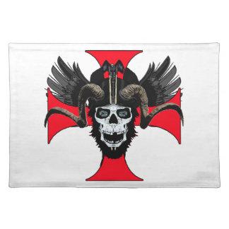 Ram skull 3 tw place mats