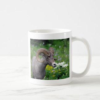 Ram - Smelling the Flowers Coffee Mug