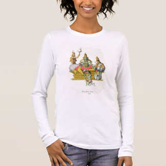 Rama, engraved by du Bouisi (colour litho) Long Sleeve T-Shirt