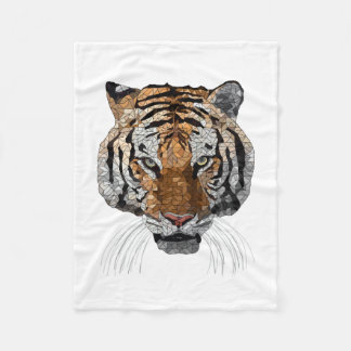 Rama the Tiger Fleece Blanket