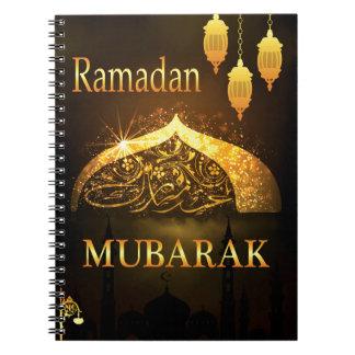 Ramadan Al Adha and Fiter Spiral Notebook