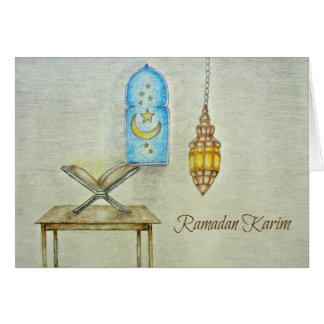 Ramadan day greeting card