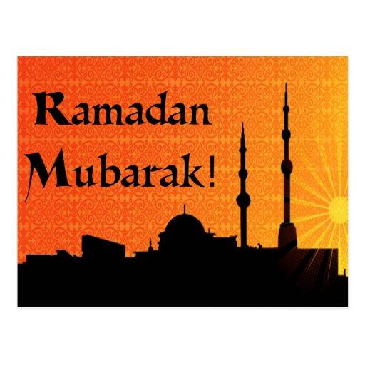 Ramadan Mubarak Post Cards