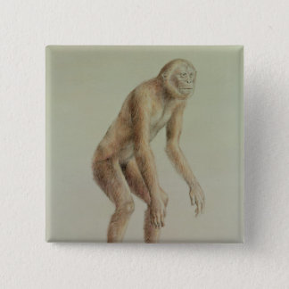 Ramapithecus 15 Cm Square Badge