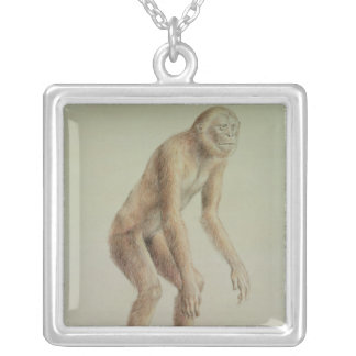 Ramapithecus Silver Plated Necklace