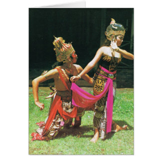 Ramayana Dancers, Hindu traditional dancers Greeting Card