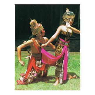 Ramayana Dancers, Hindu traditional dancers Postcard