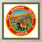 Rambagh Palace Jaipur Poster