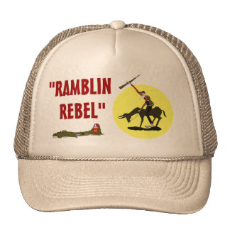 """""""RAMBLIN, REBEL"""" CAP"""
