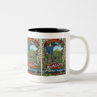 Rambling on the Avalon Way Two-Tone Mug