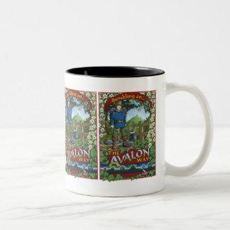 Rambling on the Avalon Way Two-Tone Mug