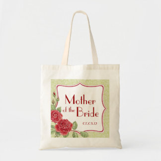 Rambling Rose - Gold -Mother of the Bride Tote Bag