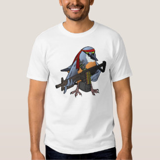 Rambo-style Nuthatch Tee Shirts