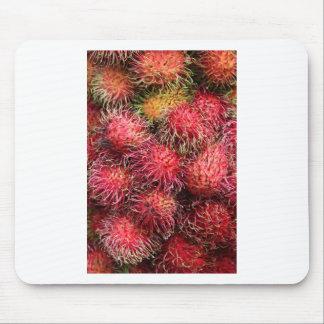 Rambutan fruit mousepad