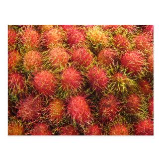 Rambutan Tropical Fruit Postcards