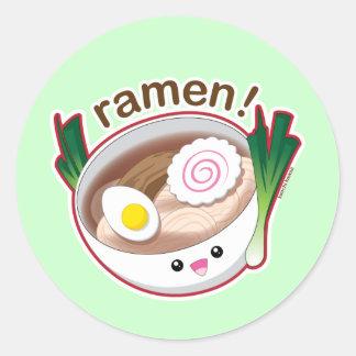 Ramen! Classic Round Sticker
