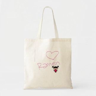 Ramen Girl Tote Bag