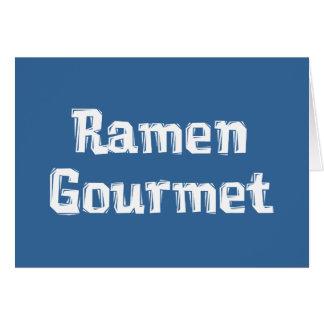 Ramen Gourmet Gifts Greeting Cards
