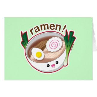 Ramen! Greeting Card