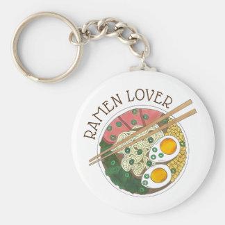 Ramen Lover Japanese Food Miso Noodles Soup Bowl Key Ring