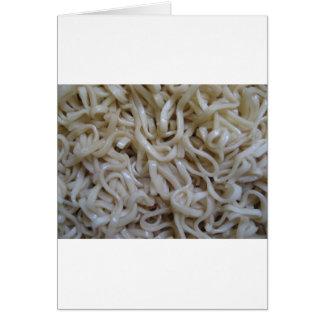 Ramen Noodles Greeting Card